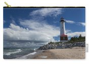 Crisp Point Lighthouse 6 Carry-all Pouch
