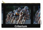 Criterium With Caption Carry-all Pouch