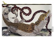 Crocodile & Snake Carry-all Pouch
