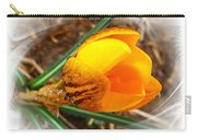 Crocus Gold Two Carry-all Pouch