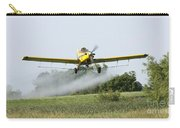 Crop Dusting Plane In Action Carry-all Pouch