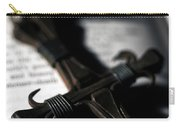 Cross On A Book Carry-all Pouch by Fabrizio Troiani