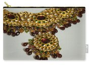 Cross Section Of A Purple And Yellow Gold Beautiful Necklace Carry-all Pouch by Ashish Agarwal