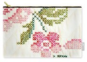 Cross Stitch Flower 1 Carry-all Pouch