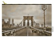 Crossing Over Carry-all Pouch by Joann Vitali