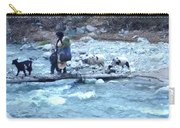 Crossing The Ourika River Carry-all Pouch