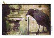 Crow On Iron Gate Carry-all Pouch