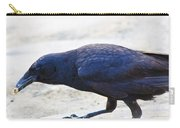 Crow Snacking Carry-all Pouch