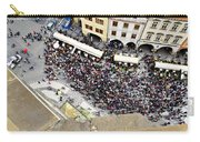 Crowd Forms At Clock Tower - Prague Carry-all Pouch