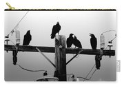 Crows And Insulators On Route 66 Carry-all Pouch