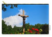 Crucifix In Indian River Carry-all Pouch