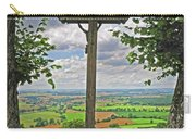 Crucifix Overlooking The French Countryside Carry-all Pouch