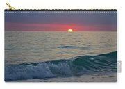 Crystal Blue Waters At Sunset In Treasure Island Florida 5 Carry-all Pouch