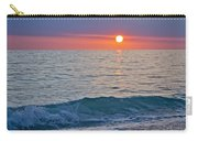Crystal Blue Waters At Sunset In Treasure Island Florida Carry-all Pouch