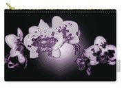 Crystal Butterfly Orchid Carry-all Pouch