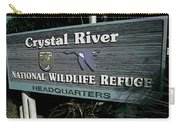 Crystal River Carry-all Pouch