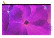 Crystelized Hydrangea Bloom Art Carry-all Pouch