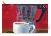 Cuban Coffee And Lime Red R62012 Carry-all Pouch