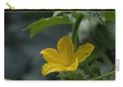 Cucumber Flower Carry-all Pouch