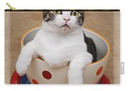 Cup O Tilly 3 Carry-all Pouch by Andee Design