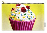 Cupcake With Cherries Carry-all Pouch