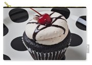 Cupcake With Cherry Carry-all Pouch
