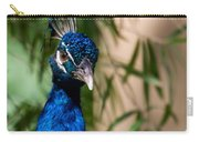 Curious Peacock Carry-all Pouch