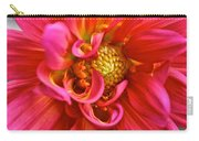 Curly Dahlia Carry-all Pouch