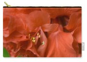 Curly Hibiscus Carry-all Pouch