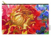 Red And Yellow Dahlia Carry-all Pouch