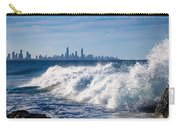 Currumbin Beach Waves On Rocks Carry-all Pouch