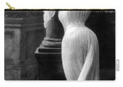 Curves In Black And White Carry-all Pouch