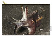 Cuttlefish With Tentacles Extended Carry-all Pouch