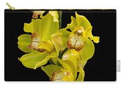 Cymbidium - Boat Orchid Carry-all Pouch