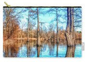 Cypress Swamp In Winter Carry-all Pouch