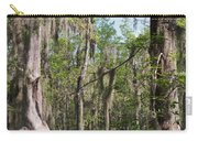 Cypress Trees And Water Hyacinth In Lake Martin Carry-all Pouch