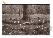 Daffodil Glade Number 2 Bw Carry-all Pouch