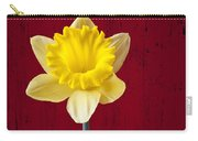 Daffodil In Red Pitcher Carry-all Pouch