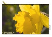 Daffodil In Sunlight Carry-all Pouch