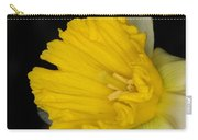 Daffodil On Black Carry-all Pouch