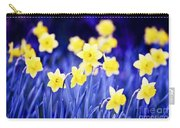 Daffodils Flowers Carry-all Pouch