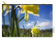 Daffodils In Cezallier. Auvergne. France. Europe Carry-all Pouch
