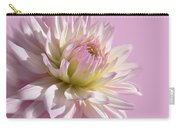 Dahlia Flower Pretty In Pink Carry-all Pouch