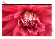 Dahlia In Red Carry-all Pouch