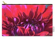 Dahlia Over Exposed Carry-all Pouch