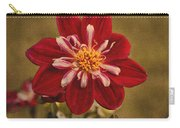 Dahlia Carry-all Pouch by Sandy Keeton