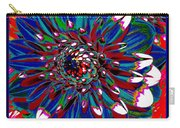 Dahlia With Intense Primaries Effect Carry-all Pouch