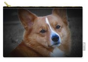 Daisie Our Corgi Carry-all Pouch