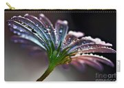 Daisy Abstract With Droplets Carry-all Pouch