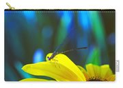Daisy And Dragonfly Carry-all Pouch